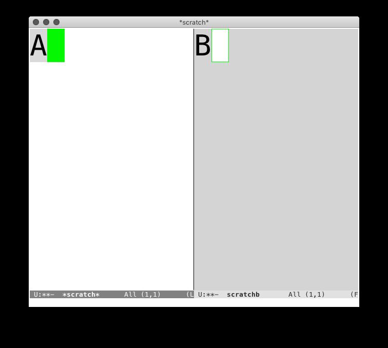 Equal width windows